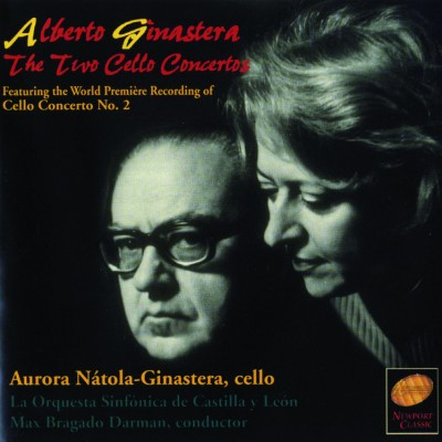 Alberto Ginastera: The two cello concertos